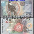 Suriname 25 Gulden Foreign Paper Money Banknote