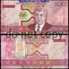 Turkmenistan 100 Manat Foreign Paper Money Banknote
