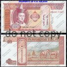 Mongolia 20 Tugrik Foreign Paper Money Banknote