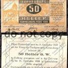 Austria Notgeld 50 Heller Foreign Paper Money 1920