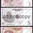 Congo 3pc. Banknote Lot Centimes Foreign Paper Money