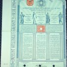 Greece Old Bond Certificate 1898 Antique Stock