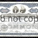Lehigh Coal and Navagation Company Old Stock Certificate Blue