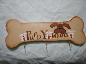 Puppy Love Dog Bone Leash Holder 3