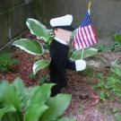 Sailor/Police Garden Stake Flag Holder(Coast Guard/Navy)