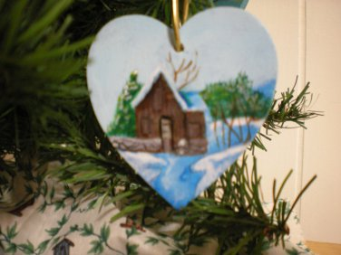 The Mill Ornament Gift Tag
