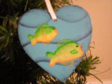 Tropical Fish Gift Tag