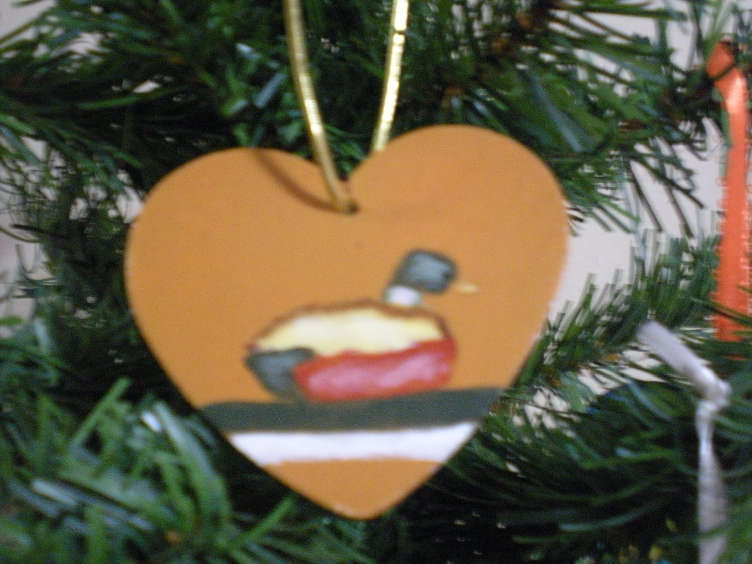 Duck Decoy Gift Tag Ornament