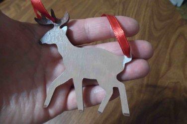 Deer Ornament & Gift Tag