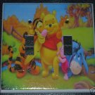 WINNIE the POOH DOUBLE LIGHT SWITCH COVER *LOOK*