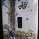 CLASSIC POOH LIGHT SWITCH COVER *CUTE* Winnie the Pooh