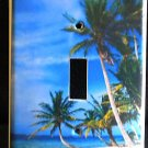 TROPICAL PALM TREES LIGHT SWITCH COVER LOOK Beach decor