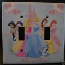 Disney PRINCESS DOUBLE LIGHT SWITCH COVER *LOOK*