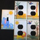 Roommates JUNGLE ADVENTURE LIGHT SWITCH & OUTLET COVERS
