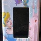 Disney Princess CINDERELLA Rocker LIGHT SWITCH COVER