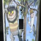 WHERE the WILD THINGS ARE LIGHT SWITCH COVER Look!