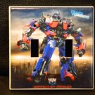 Transformers *OPTIMUS PRIME* DOUBLE LIGHT SWITCH COVER