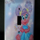 ABBY CADABBY LIGHT SWITCH COVER Sesame Street ADORABLE!