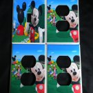 MICKEYS CLUBHOUSE LIGHT SWITCH & OUTLET COVERS *LOOK!