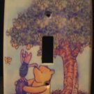 CLASSIC POOH LIGHT SWITCH COVER *CUTE* Pooh & Piglet