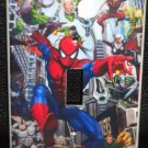 SPIDER-MAN LIGHT SWITCH COVER Spiderman & Villans Cool!