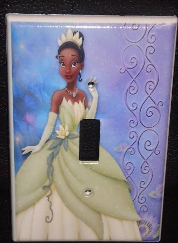 The PRINCESS and the FROG LIGHT SWITCH COVER *CUTE*