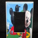 Mickey's CLUBHOUSE LIGHT SWITCH COVER Rocker Switch GFI