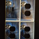 SEATTLE SEAHAWKS LIGHT SWITCH & OUTLET COVERS *LOOK!