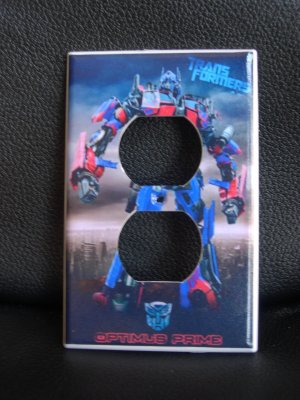 Transformers *Optimus Prime* OUTLET COVER Look! Cool