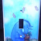 CLASSIC EEYORE LIGHT SWITCH COVER Classic pooh CUTE