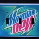 MOUNTAIN DEW TRIPPLE LIGHT SWITCH COVER  Unique Look!