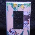 MONKEYS rocker light switch GFI OUTLET Playful Monkeys