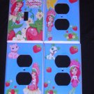 New STRAWBERRY SHORTCAKE LIGHT SWITCH & OUTLET COVERS