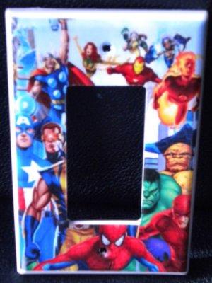 MARVEL SUPER HEROES GFI Outlet / Rocker light switch