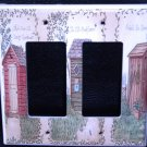 Linda Spivey OUTHOUSES DOUBLE GFI OUTLET COVER Decor