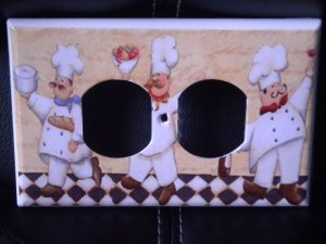 FAT CHEF OULTET COVER  Kitchen Decor *Look* Horizontal