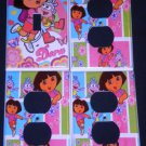 DORA the EXPLORER Light Switch and Outlet Covers Dora and Boots CUTE room decor