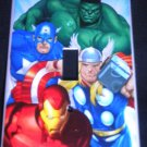 MARVEL AVENGERS LIGHT SWITCH COVER Capt America Thor Hulk Iron Man Single Switch