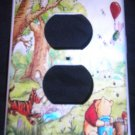 CLASSIC POOH OUTLET COVER Winnie the Pooh Storybook scene 2 Tigger Piglet Owl