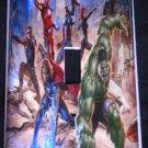 MARVEL AVENGERS LIGHT SWITCH COVER Avengers Movie Action Scene Single Switch