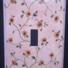 SUNFLOWER vines LIGHT SWITCH COVER Single switch plate Room decor accent