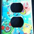 SPONGEBOB Blowing Bubbles OUTLET COVER SPONGEBOB & Friends outlet plate cover