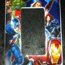 MARVEL AVENGERS GFI Outlet / Rocker LIGHT Switch Plate Avengers Movie