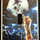 Dallas COWBOYS LIGHT SWITCH COVER *Great Gift FOOTBALL single switch plate
