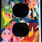 JAKE and the NEVERLAND PIRATES OUTLET COVER faceplate Outlet Plate Cover CUTE