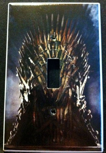 GAME of THRONES LIGHT SWITCH COVER Single Switch Plate faceplate GOT Throne 2