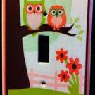 SWEET DREAM OWL LIGHT SWITCH plate Pam Grace Owls single switch plate