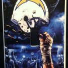 San Diego CHARGERS LIGHT SWITCH COVER *Great Gift FOOTBALL single switch plate