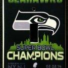 SEATTLE SEAHAWKS Super Bowl XLVIII CHAMPIONS LIGHT SWITCH COVER Single switch