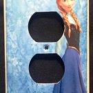 Disney FROZEN OUTLET Cover ANNA  Outlet plate cover Disney Frozen room decor